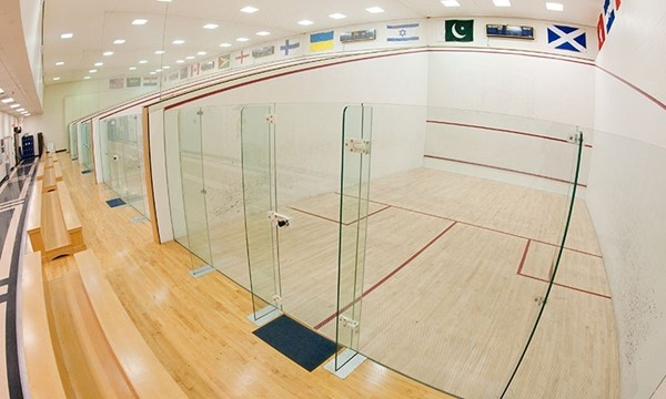 68c83eeeb74 Lyman Squash Center - Facilities - University of Rochester Athletics