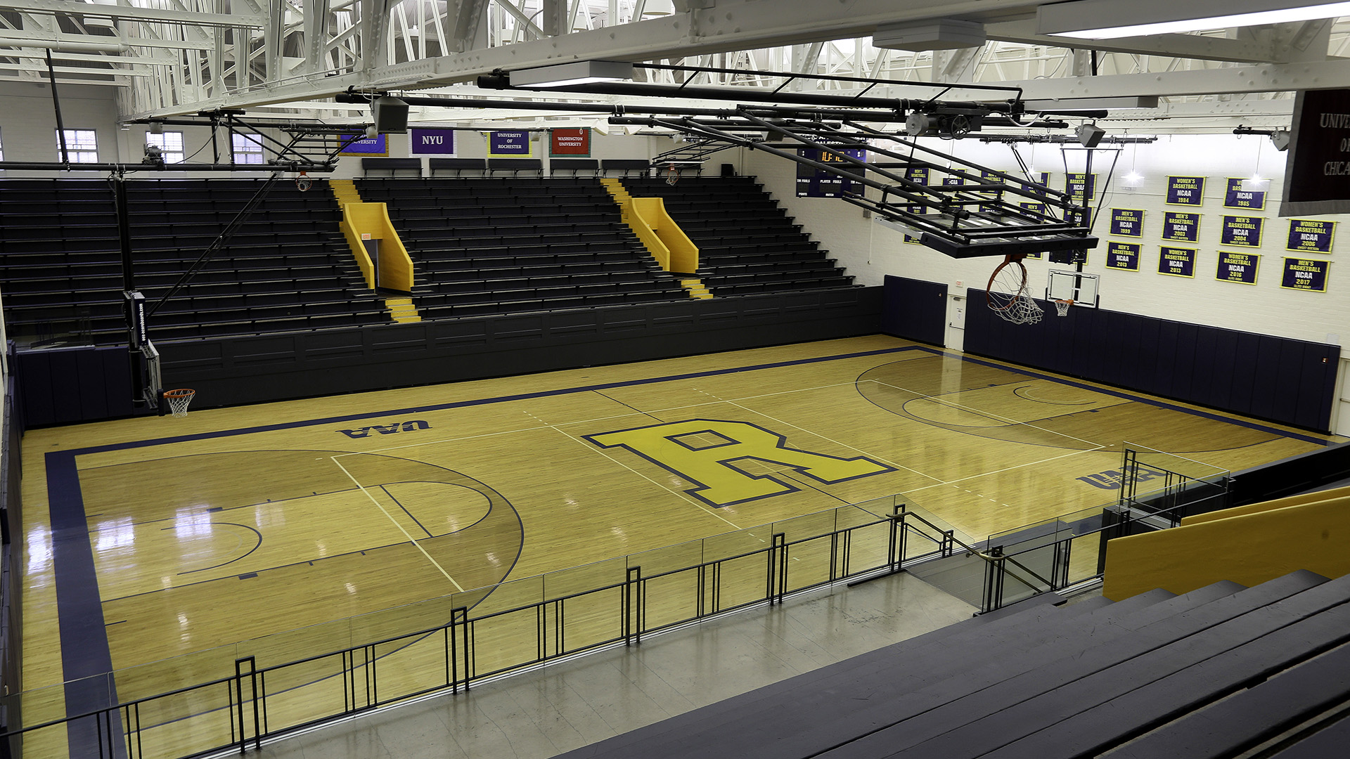 Louis Alexander Palestra Facilities University Of Rochester Athletics